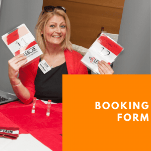 Exhibitor Booking Form at Chester Business Show